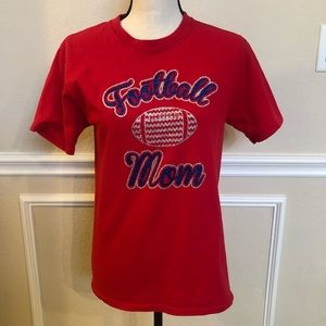 Football Mom T-Shirt Size Small. Looks new!